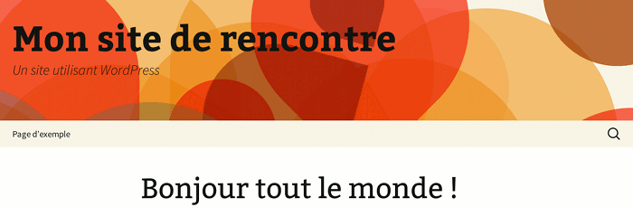 Wordpress rencontres