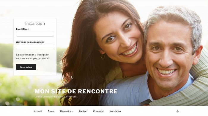 Site de rencontre sous wordpress